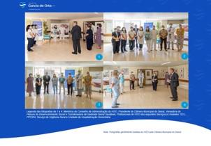 imagem do post do Profissionais do HGO homenageados pela Câmara Municipal do Seixal